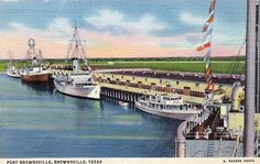 Port Brownsville, Texas, late 1930s