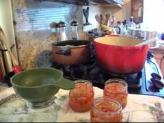 Habanero Mango Jelly And A little Inventory - YouTube