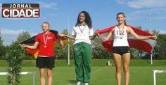 Xandinha conquista medalha de ouro na Áustria. Leia:http://goo.gl/uD2Ssj