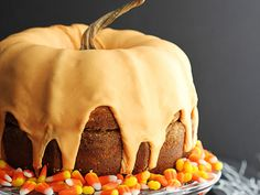 We'll take a pumpkin cream cheese bundt cake any day!