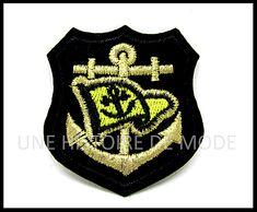 PATCH MARIN - écusson thermocollant marin - UNE HISTOIRE DE MODE Porsche Logo, Tank Tops, Logos, Diy, Women, Fashion, Patches, Anchor, Sailors