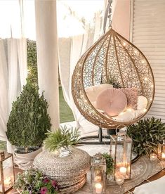 Inspiring Boho Furniture Ideas for 2019 Cute Bedroom Decor, Bedroom Decor For Teen Girls, Cute Bedroom Ideas, Girl Bedroom Designs, Teen Room Decor, Stylish Bedroom, Room Ideas Bedroom, Small Balcony Decor, Bedroom Seating