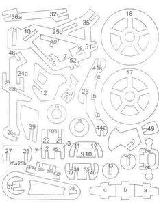 1511 Rocking Motorcycle Plans Wooden Gear Clock, Wooden Gears, Wood Burning Crafts, Wood Crafts, Diy And Crafts, Cnc Projects, Woodworking Projects, 3d Puzzel, Wood Bike