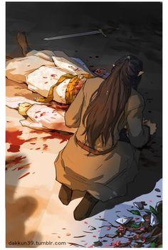 Finwë and Fëanor  My heart hurts.