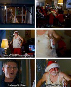 [gifset] 3x08 A Very Supernatural Christmas #SPN #Dean #Sam