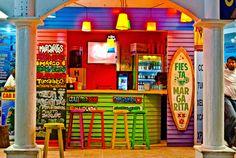 Bar, Playa Del Carmen, Riviera Maya, Mexico Cafe Design, House Design, Cocktails Bar, Backyard Bar, Beach Shack, Restaurant Interior Design, Beach Bars, Cafe Bar, Belle Photo