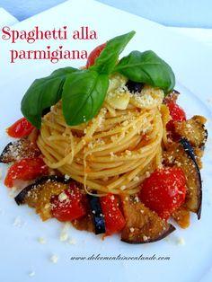 Spaghetti alla parmigiana...super appetitosi!