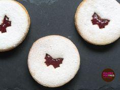 Galletas Jammy Dodgers receta inglesa #receta #galletas #jammydodgers