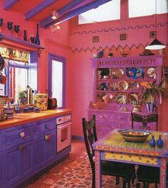 Gypsy Boho Chicana Kitchen