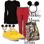 Mickey mouse outfit and others on link....