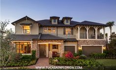 Watercrest At Parkland - Horizon Collection by Standard Pacific Homes in Parkland, Florida Cottage Plan, Cottage Homes, Family House Plans, Home And Family, Big Family, Villas, Standard Pacific Homes, Storybook Cottage, Multi Family Homes