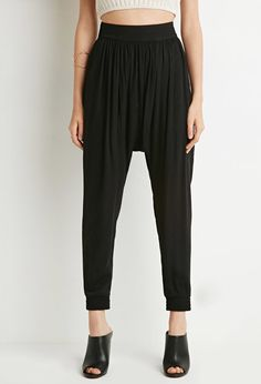 Tonal Harem Pants