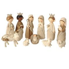 Faux Knit Style Holy Family Christmas Nativity Manger Set 85 Inches *** More info could be found at the image url. (This is an affiliate link) Christmas Clay, Christmas Nativity, Christmas Time, Family Christmas, Xmas, Christmas Ideas, Christmas Crafts, Kids Nativity Set, Nativity Scene Sets