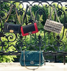 One CHANEL, two CHANEL, three CHANEL, more. www.thecoveteur.com/sofia_sanchez