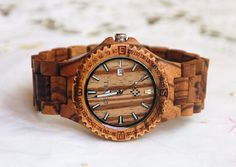 Hey, I found this really awesome Etsy listing at https://www.etsy.com/listing/191232529/wooden-watch-women-or-men-zebra-wood