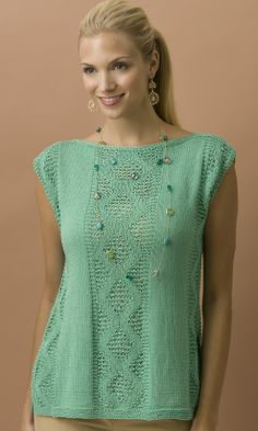 New Leaf Shell in COTTON CLASSIC LITE http://tahkistacycharles.com/t/pattern_single?products_id=2205