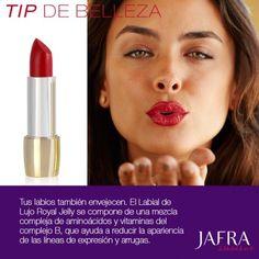 Prolonga tus besos con Labial Royal Jelly. #jafra #Ajafracosmetics