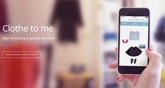 """#Clothetome, l'app pour ne plus jamais dire """"Je n'ai rien à me mettre !"""" le matin ! :)"""