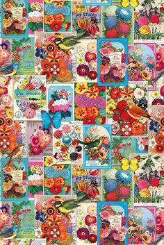 Imprimolandia: Papeles pintados para imprimir