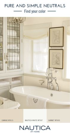 Sail Whites Paint Color Collection By Nautica At Home