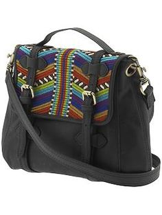 Tribal look is big this spring, and this bag will go with everything!