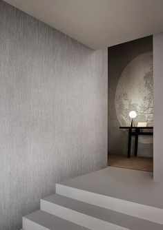 Essential Wallcovering by the roll by Wall and Deco Welcome To My House, Relaxation Room, Contemporary Wallpaper, Interior Decorating, Interior Design, World Of Interiors, Home Wallpaper, Tile Design, Textured Walls