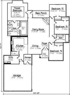 Split Bedrooms - 14121KB | 1st Floor Master Suite, Acadian, Butler Walk-in Pantry, European, French Country, PDF, Southern, Split Bedrooms | Architectural Designs