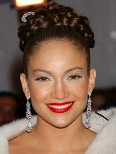 Pleasing Jennifer Lopez Barrel Curls And Her Hair On Pinterest Short Hairstyles Gunalazisus
