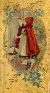 Clearly Vintage: Some More Little Red Riding Hood Illustrations