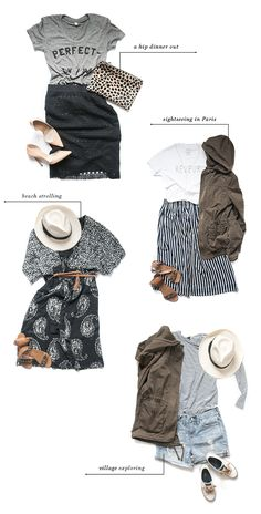 37 Cute Spring & Summer Travel Outfits To Inspire You