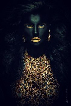 Wonderful Black Gold Jewelry For Beautiful Pieces Ideas. Breathtaking Black Gold Jewelry For Beautiful Pieces Ideas. Black Women Art, Black Art, Bild Gold, Or Noir, Montage Photo, Black Gold Jewelry, Anime Comics, Black Is Beautiful, African Art