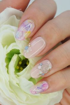 50+ Coolest Wedding Nail Design Ideas  - Planning for wedding and looking for cool wedding nail design ideas?! These wedding nails designs will amaze all guests. These tutorials for you, Start Now! -  pictures-of-wedding-nail-designs .