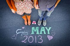 Pregnancy Announcement I shot for my BFF