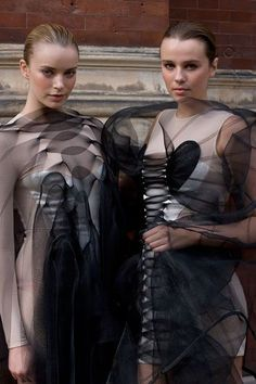 Fashion in Motion: Central St Martins Graduates, September 2008. #fashion #catwalk: