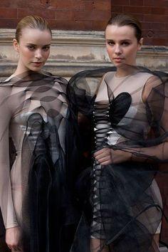 Fashion in Motion: Central St Martins Graduates, September 2008. #fashion #catwalk: