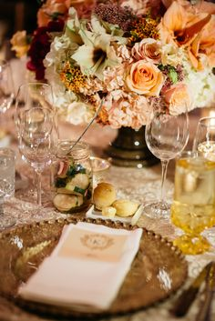 A Fall Wedding at Willow Creek Ranch in Cleburne, Texas Willow Creek Ranch, Wedding Table, Fall Wedding, Cleburne Texas, Floral Wedding, Wedding Flowers, Dream Of Getting Married, Gold Chargers, Table Place Settings