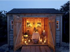 cabin in the woods - glamping