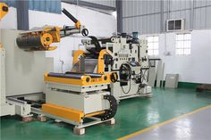 Heavy Duty Combination Decoiler Flat Stock Straightener#sheetmetalworkers #precisionmetalworking #sheetmetalstamping #mechanicalengineer #engineeringindustries #electricandelectronics