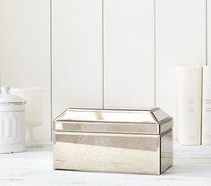 Monique Lhuillier Mirrored Jewelry Box | Pottery Barn Kids