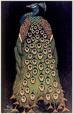 Shiro Kasamatsu, peacock
