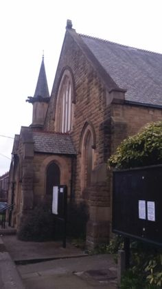 Entrance to Church in Birtley