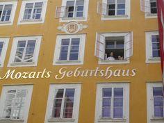 Mozart's house, Salzburg, Austria