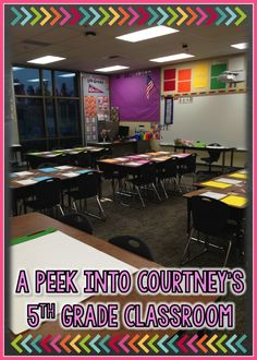 Teaching With a Mountain View: {Peek of the Week} A Peek into Courtney's 5th Grade Classroom