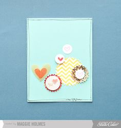 I Love You Card by maggie holmes at Studio Calico