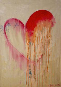 """Saatchi Online Artist Linda Colletta; Painting, """"BELIEVE"""" #art"""