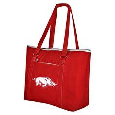 Cooler NCAA Arkansas Razorbacks Red