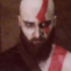 Just Kratos things Makeup test. Who is waiting for #godofwar ? . . . #kratos #godofwar3 #playstation4 #playstation #valhalla #god #olimp #olimpus #kratosmakeup #kratoscosplay #hades #zeus #hera #achillesradial #monster #titans #axe #shield #son #father #cosplay #cosplayvideo #vikings #viking #norsegod #ps4 #cosplayfun #gamecosplay #cosplaymovie #cosplaymakeup