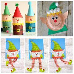 Mejores 17 Imagenes De Elfos De Navidad En Pinterest Manualidades - Manualidades-de-navidad-para-nios-de-preescolar