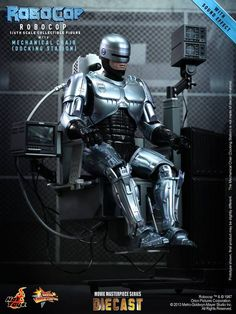 MMS Diecast #RoboCop with Mechanical Chair : whooping $424,99 - to be released in February 2014