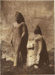 Louis De Clercq - Discovery of Votive Statues in the Cypro-classical Center of Cyprus, September 1859